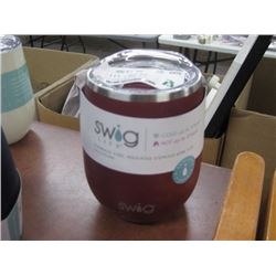 SWIG 14 OZ WINE RED CUP