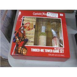 CAPTAIN MORGAN TIBER-ME TOWER GAME SET