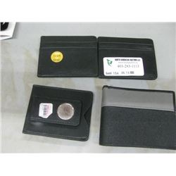 SET OF 4 ASSORTED WALLETS