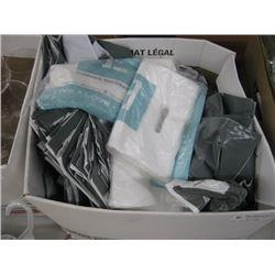 BOX OF PLASTIC THINGS ENGRAVED BAGS