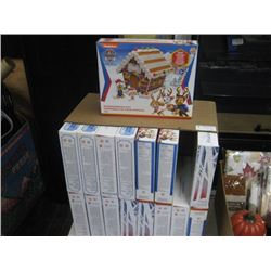 SET OF 16 ASSORTED GINGERBREAD KITS