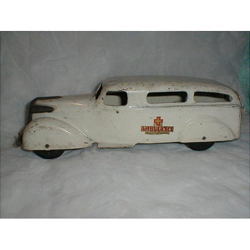 vintage wyandotte ambulance - circa 1930's #1020148