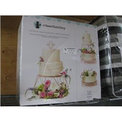 THE SWEET TOOTH FAIRY TIERED CAKE STAND