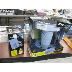 SET OF 3 WATER PURIFIER AND REPLACEMENT FILTER