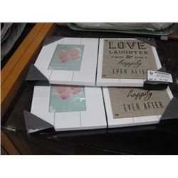 SET OF 2 HOMETRENDS PICTURE FRAMES