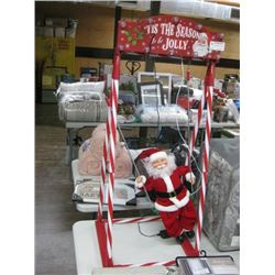 AUTOMATIC CHRISTMAS SWING FOR SANTA BROKEN CLIP