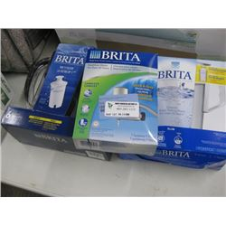 SET OF 3 BRITA WATER FILTRATION SYSTEMS
