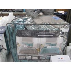 CHELSEA SQUARE BED SET 8-PC QUEEN