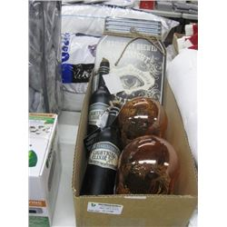 BOX OF ASSORTED HALLOWEEN DECOR
