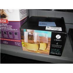 WINE AND DINE 4-PC GLASS SET