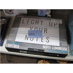 MERKURY PERSONAL LED LIGHT UP BOX