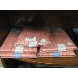 SET OF 5 OUTDOOR TABLECLOTHS