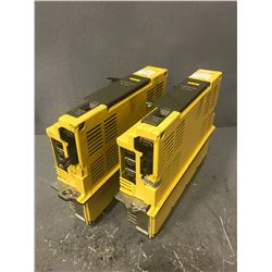 (2) FANUC A06B-6089-H105 SERVO AMPLIFIER UNIT