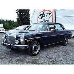 """0G - 1973 MERCEDES 280 """"Donate a Car"""" """"No Reserve"""""""