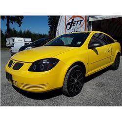 B4 --  2007 PONTIAC G5  , Yellow , 164393  KM's