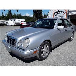 E5 --  1997 MERCEDES E320W , Silver , 189909  KM's