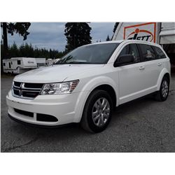 H4 --  2016 DODGE JOURNEY SE , White , 31149  KM's
