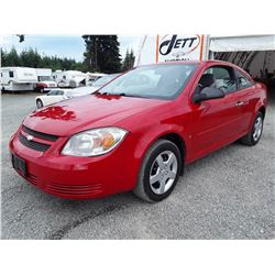 E6 --  2007 CHEVROLET COBALT LS , Red , 201057  KM's