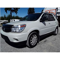 I6 --  2006 BUICK RENDEVOUS CX , White , 263100  KM's