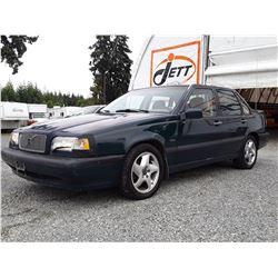 A12C --  1995 VOLVO 850 , Green , 222766  KM's