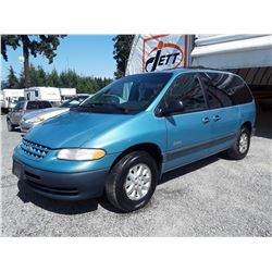 A5 --  1998 PLYMOUTH VOYAGER SE , Blue , 329094  KM's