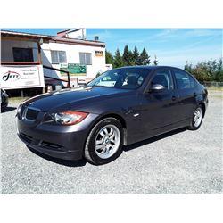 C6 --  2007 BMW 323I  , Grey , 202476  KM's