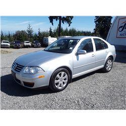 D3 --  2008 VW CITY JETTA , Silver , 146154  KM's