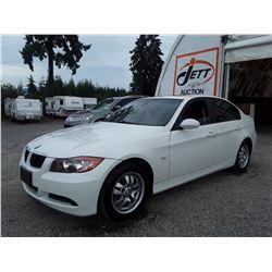 B2 --  2006 BMW 323I , White , 220716  KM's