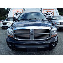 G1 --  2006 DODGE RAM 1500 LARAMIE CREW CAB 4X4, , Black , 359779  KM's