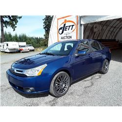 B1 --  2009 FORD FOCUS SES , Blue , 169647  KM's