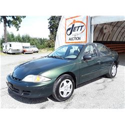 A6 --  2001 CHEVROLET CAVALIER LS , Green , 248075  KM's