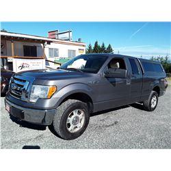 H1 --  2009 FORD F150 SUPER CAB 4X4 , Grey , 285262  KM's