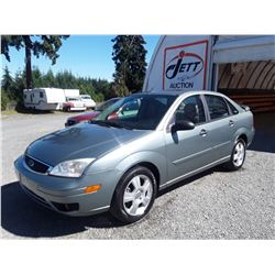 K1 --  2006 FORD FOCUS SES ZX4 , Green , 156,505 KM  KM's