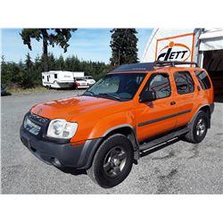 H2 --  2003 NISSAN XTERRA XE  , Orange , 241532  KM's