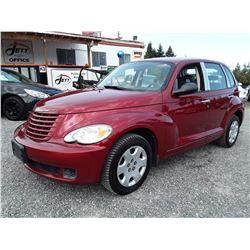 K5 --  2009 CHRYSLER PT CRUISER  , Red , 121238  KM's
