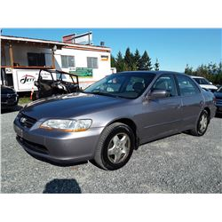 K4 --  2000 HONDA ACCORD EX , Grey , 310314  KM's