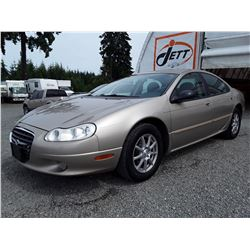 I2 --  2004 CHRYSLER CONCORDE LXI  , Brown , 154237  KM's