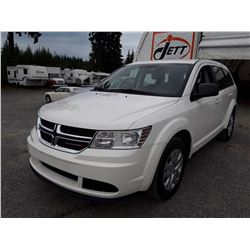 H5 --  2016 DODGE JOURNEY SE, WHITE, 29,688 KMS