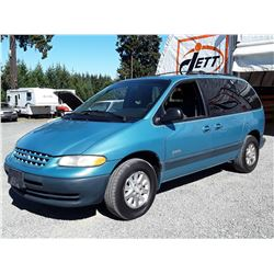 "A3 --  1998 PLYMOUTH VOYAGER SE , Blue , 329094  KM's ""NO RESERVE"""