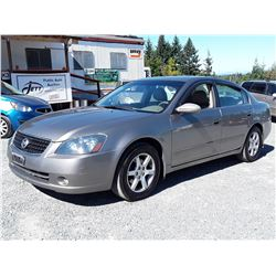 C6 --  2006 NISSAN ALTIMA S , Brown , 261373  KM's
