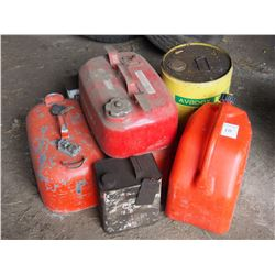 Gasoline Tanks and Gas Cans