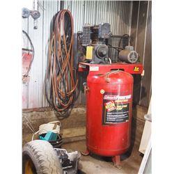 Coleman Powermate Industrial Air Compressor 5HP 80 Gallon w/ Air Hose