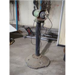 Two Wheel Grinder w/ Stand