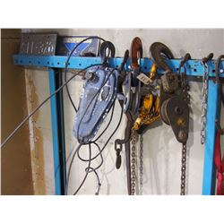 Cable Pulley's and Chain Hoists