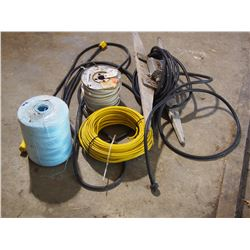 Extension Cord, Baler Twine, Electrical Wiring and Extension Cord with Outlet
