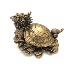 Painted Dragon Turtle Feng Shui