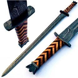 KNIGHTHOOD Damascus Steel Sword