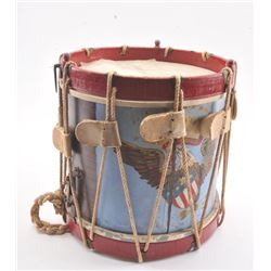 20FC-22 PAINTED CIVIL WAR DRUM