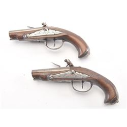 20FD-46 PAIR OF FLINTLOCK PISTOLS