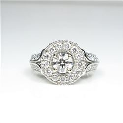 20CAI-4 EXQUISITE DIAMOND RING